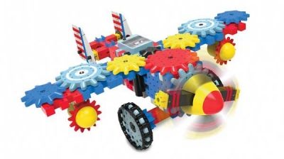 Techno Gears Aero Trax Plane from the Learning Journey