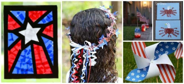 20 Patriotic and 4th of July Crafts