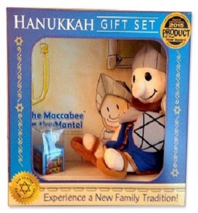 Maccabee on the Mantel Hanukkah Gift Set