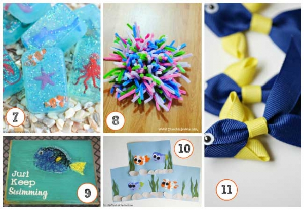 25 finding dory crafts and activities creative child for Finding dory crafts for preschoolers