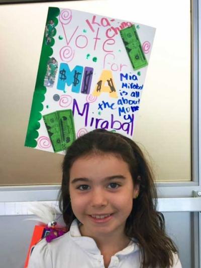 Mia running for president
