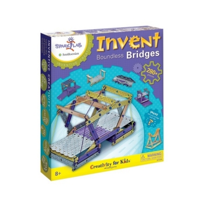 Spark! Lab Smithsonian Inventive Creativity Kits: Invent Boundless Bridges