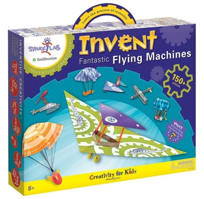 Spark! Lab Smithsonian Inventive Creativity Kits: Invent Fantastic Flying Machines