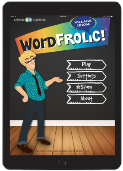 Word Frolic! iPad App