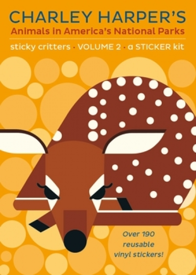 Charley Harper's Animals in America's National Parks: Sticky Critters Volume 2