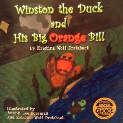 Winston the duck and his big orange bill