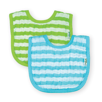 green sprouts Muslin Bibs made from Organic Cotton