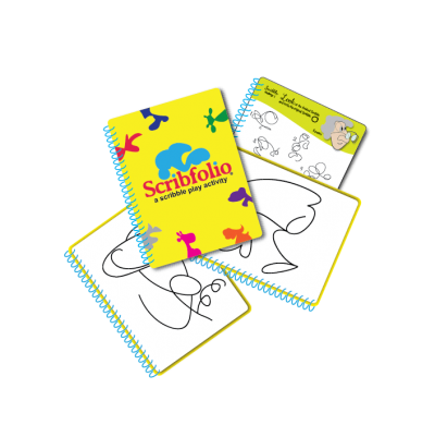 Scribfolio a scribble play activity book