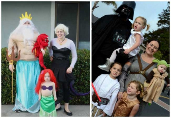 Halloween Costumes Ideas For Family Of 5.Crafty Family Halloween Costume Ideas Creative Child