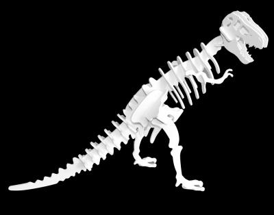 Tyrannosaurus rex 3D Dinosaur Puzzle [Choice of 9 Colors]