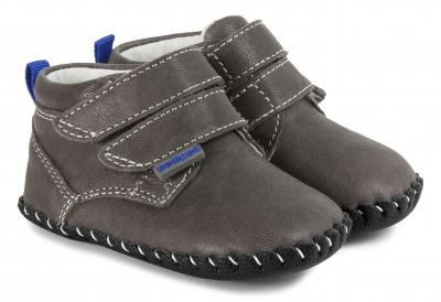 Lionel Charcoal Shoe