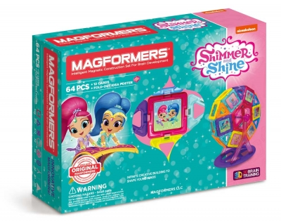 Shimmer and Shine 64Pc Set