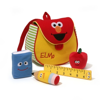 Elmo's Bookbag Playset