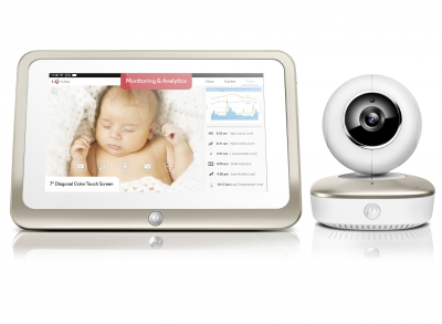 Smart Nursery 7 Portable Wi-Fi Baby Monitor
