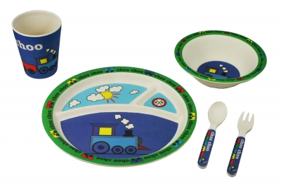 Choo Choo Train 5pc Dinner Set (#50457)
