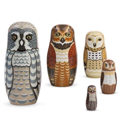 Owl Nesting Set