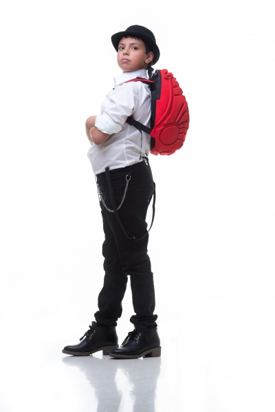 Octopack shown in Cavern Red