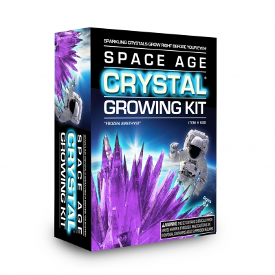 Space Age Crystals Growing Kit: Mini Series Frozen Amethyst