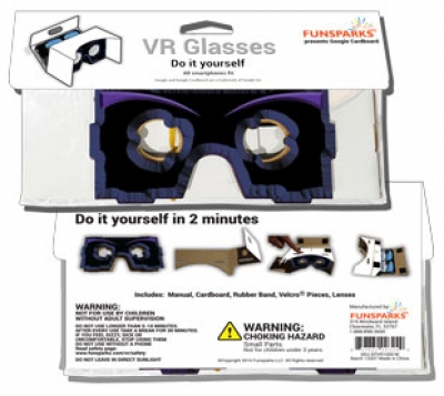 VR1 Virtual Reality Glasses DIY
