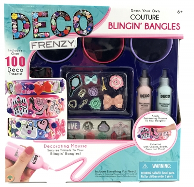 Deco Frenzy Blingin' Bangles