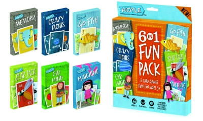 Hoyle 6 in 1 Fun Pack Card Games