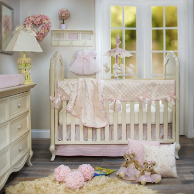 Cottage Rose 4 Piece Set