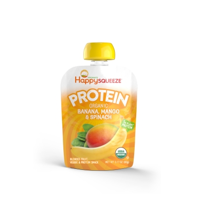 Happy Squeeze Protein pouches