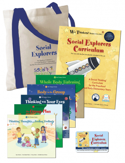 We Thinkers! Volume 1 Social Explorers Deluxe Package