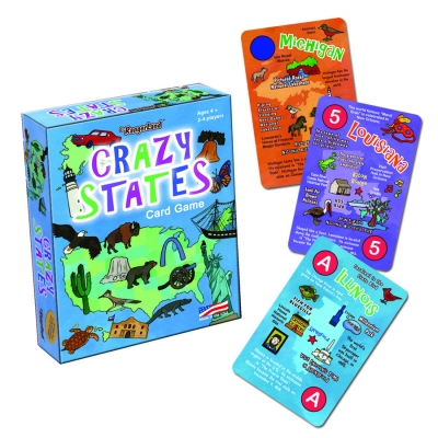 Jr. RangerLand Crazy States Card Game