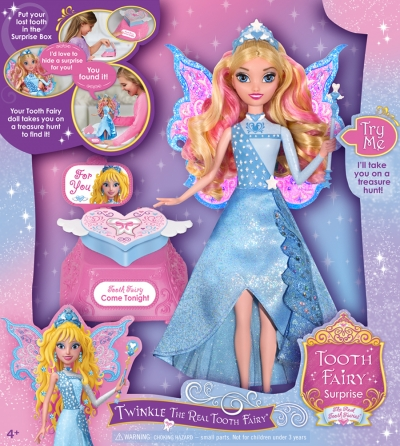 Tooth Fairy Surprise - Twinkle The Real Tooth Fairy Doll