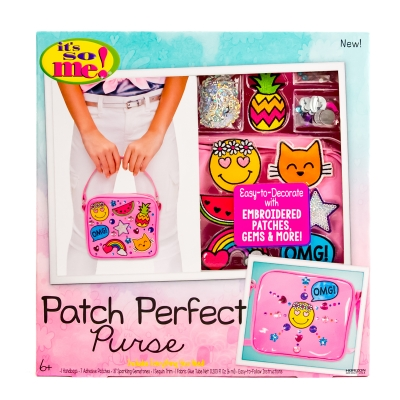 It's So Me! Patch Perfect Purse