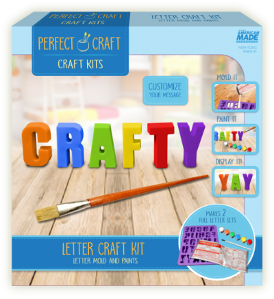 Perfect Craft Alphabet Casting Kit