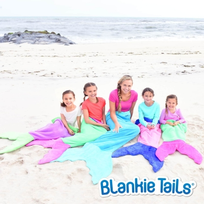 Blankie Tails Kids Mermaid Blanket