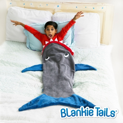 Blankie Tails Kids Shark Blanket