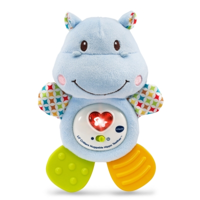 Lil Critters Huggable Hippo Teether