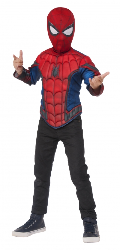 Spider-Man Muscle Deluxe Costume Top Set
