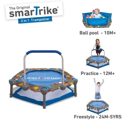 smarTrike 3-in-1 Trampoline