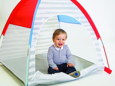 Simply Striped Lil' Nursery Tent