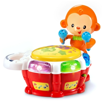 Baby Beats Monkey Drum