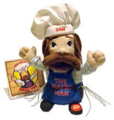 Sam the Dancing Matzo Man