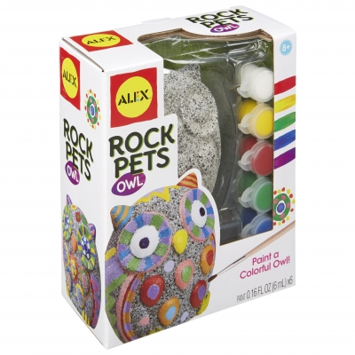 ALEX Toys Craft Rock Pets Owl