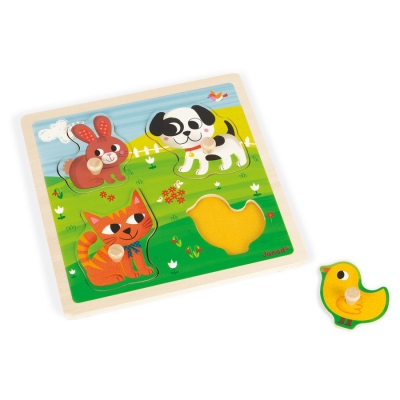 Tactile puzzle -My First Animals