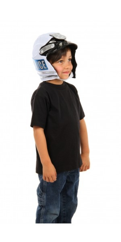 Kid Police Plush Helmet