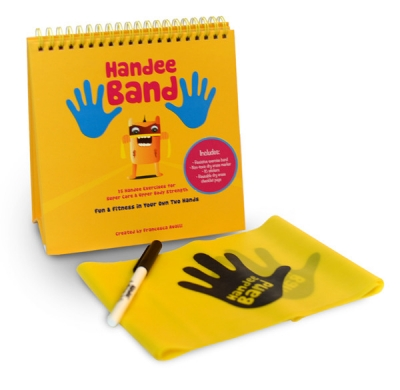 Handee Band Resistive Band Exercise Kit for Kids
