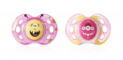 Fun Style Pacifiers (0-6, 6-18 months)