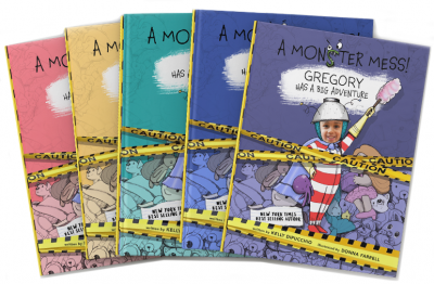 Books for Kids or Parents: A Monster Mess!