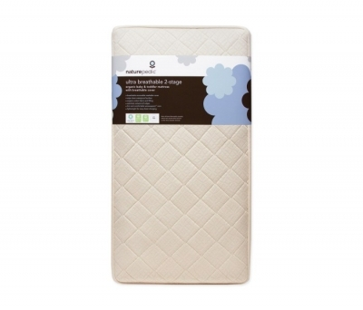 Naturepedic Ultra Breathable 2-Stage Organic Crib Mattress & Ultra Breathable Covers