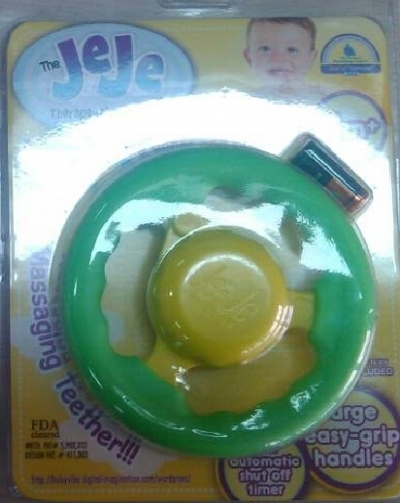 JEJE Massaging teething ring