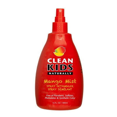 Clean Kids Naturally Mango Mist Detangler