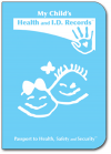 Child Health Passport (Baby Blue)